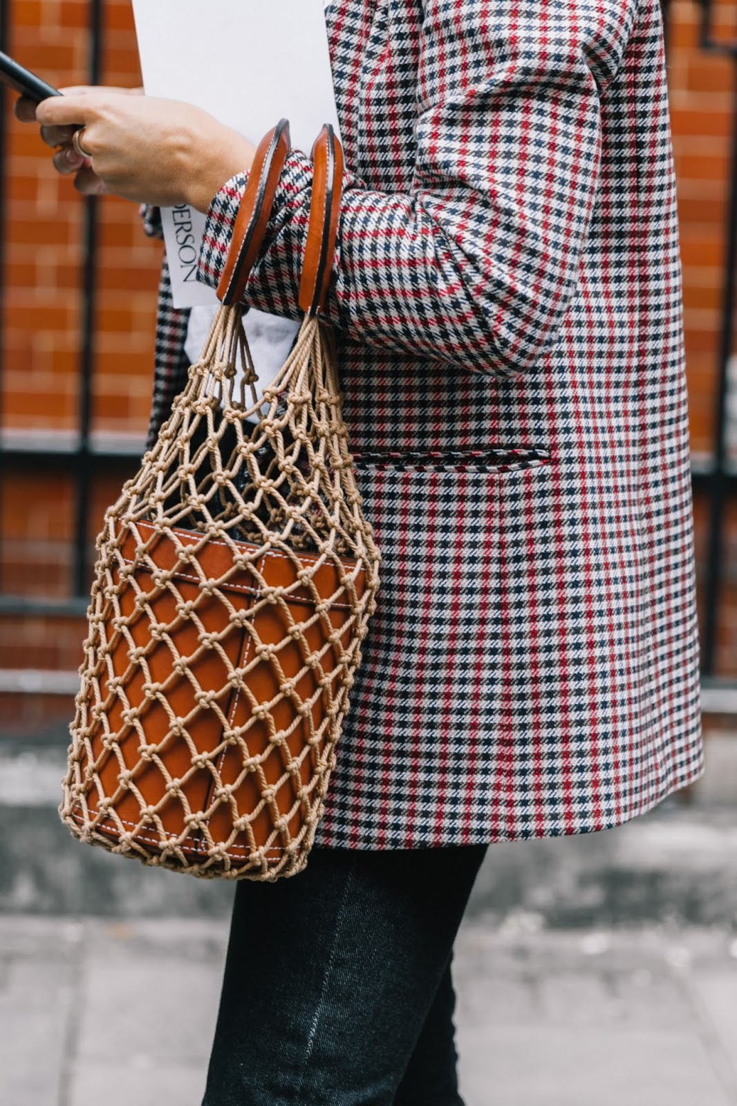 How to Wear a Checked Blazer for Fall — Street Style Inspiration
