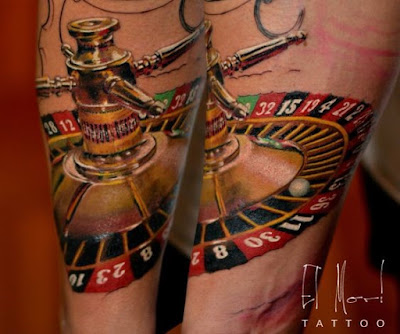 Roulette Tattoo