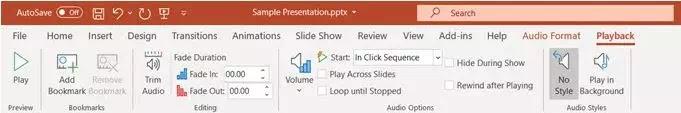 Cara Menambahkan Musik ke Presentasi PowerPoint-3