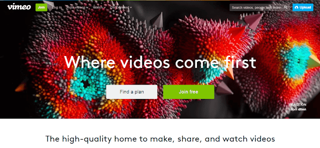 Vimeo youtube alternative