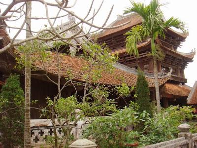 Cho thuê xe đi chùa Keo - Thái Bình 3