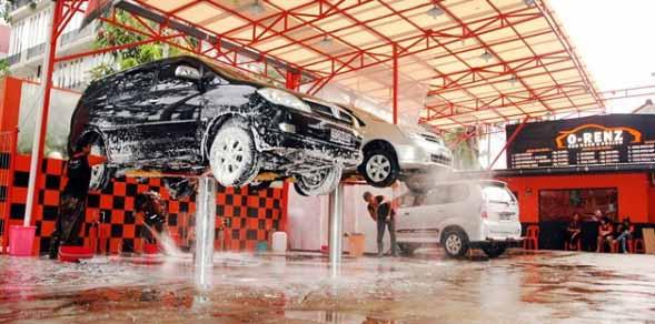 Hasil gambar untuk tempat cuci mobil dan motor