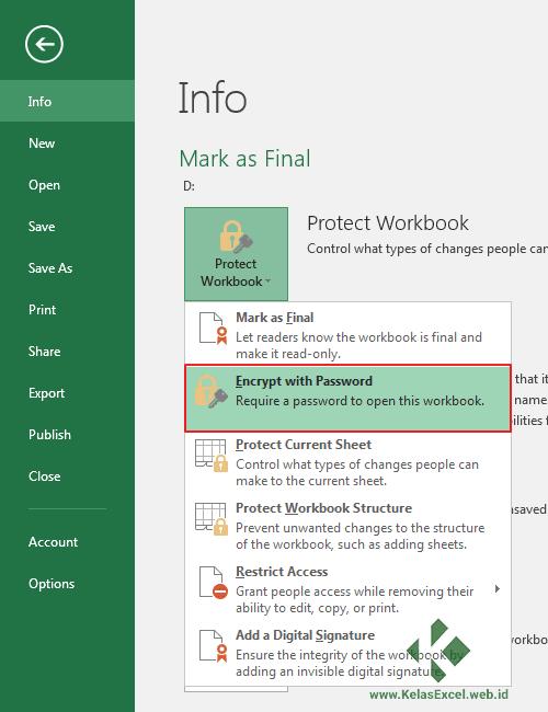 Cara Menghilangkan Read Only Pada Excel : menghilangkan, excel, Memproteksi, Cell,, Sheet,, Workbook, Excel