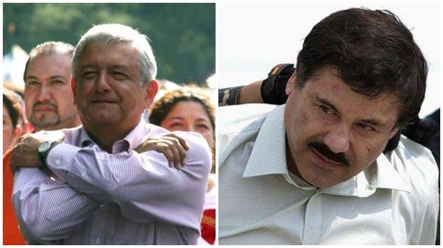 Estas son las veces que AMLO se ínclito ante El Chapo Guzmán y su gente