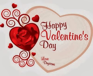 Kartu Ucapan Happy Valentine Day 2018
