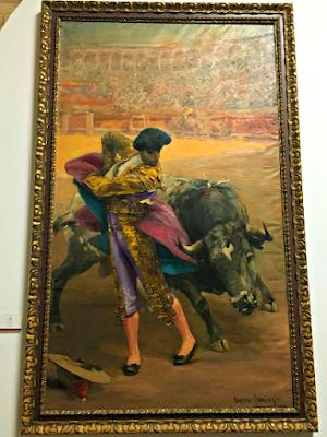Bullring Artwork Seville