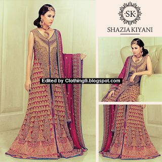 shazia kiyani bridal collection 2015