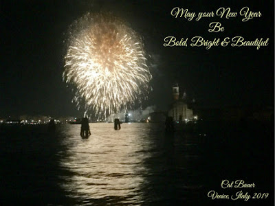 Happy New Year from Venice, Italy - Photo by Cat Bauer