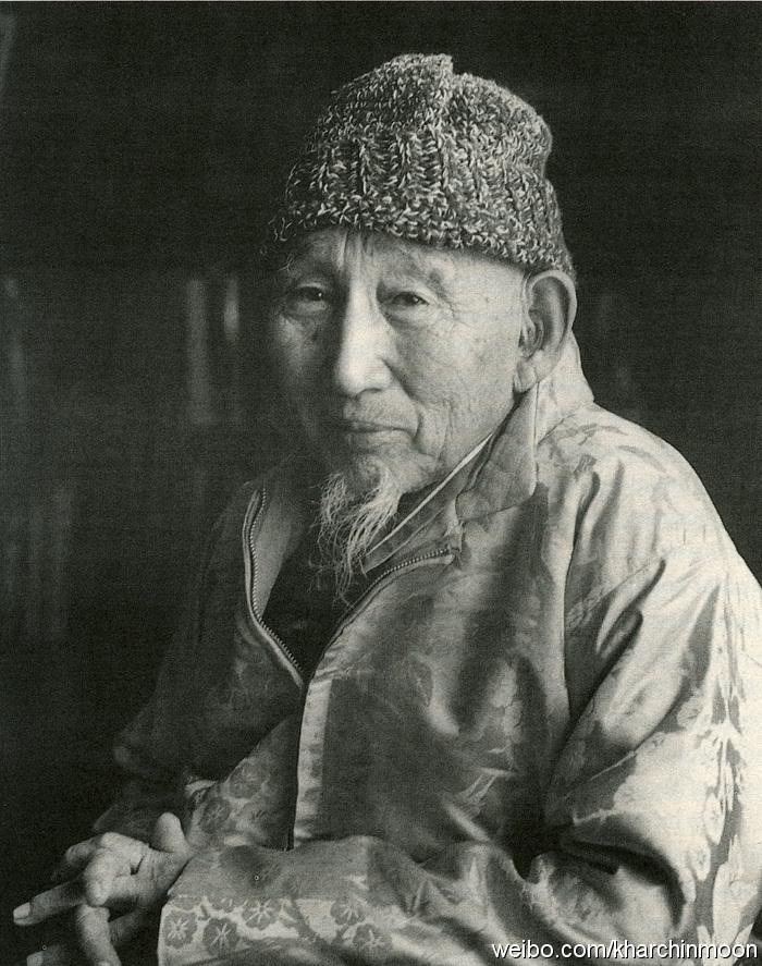 Yungsiyebu Geshe Wangyal Kalmykian Lama