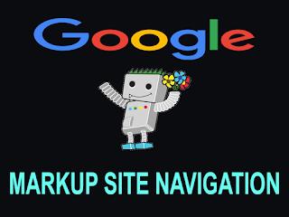 SEO:Cara Markup Site Navigation Di Blogger