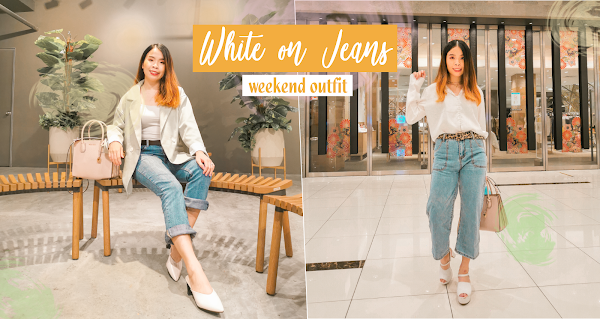 White on Jeans | Weekend Outfit