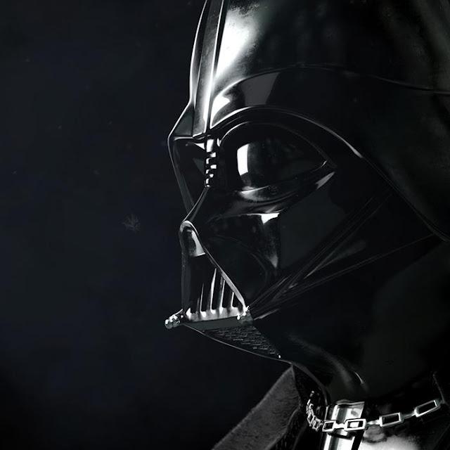 Darth Vader in Snow Storm Wallpaper Engine
