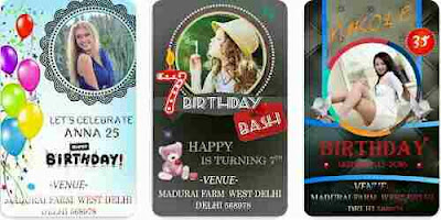 Birthday Invitation Card Maker 2