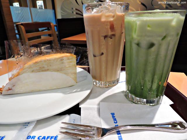 Desayuno en Excelsior Caffe en Sanno Park Tower en Tokio