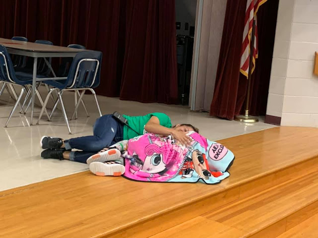 School Custodian Shows Ultimate Compassion As She Lies Down & Hug A Student Having A Rough Day 2