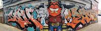 Bondi Street Art   Garfield Mural