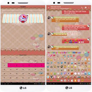 BBM Hello Kitty 2.12.0.11 APK