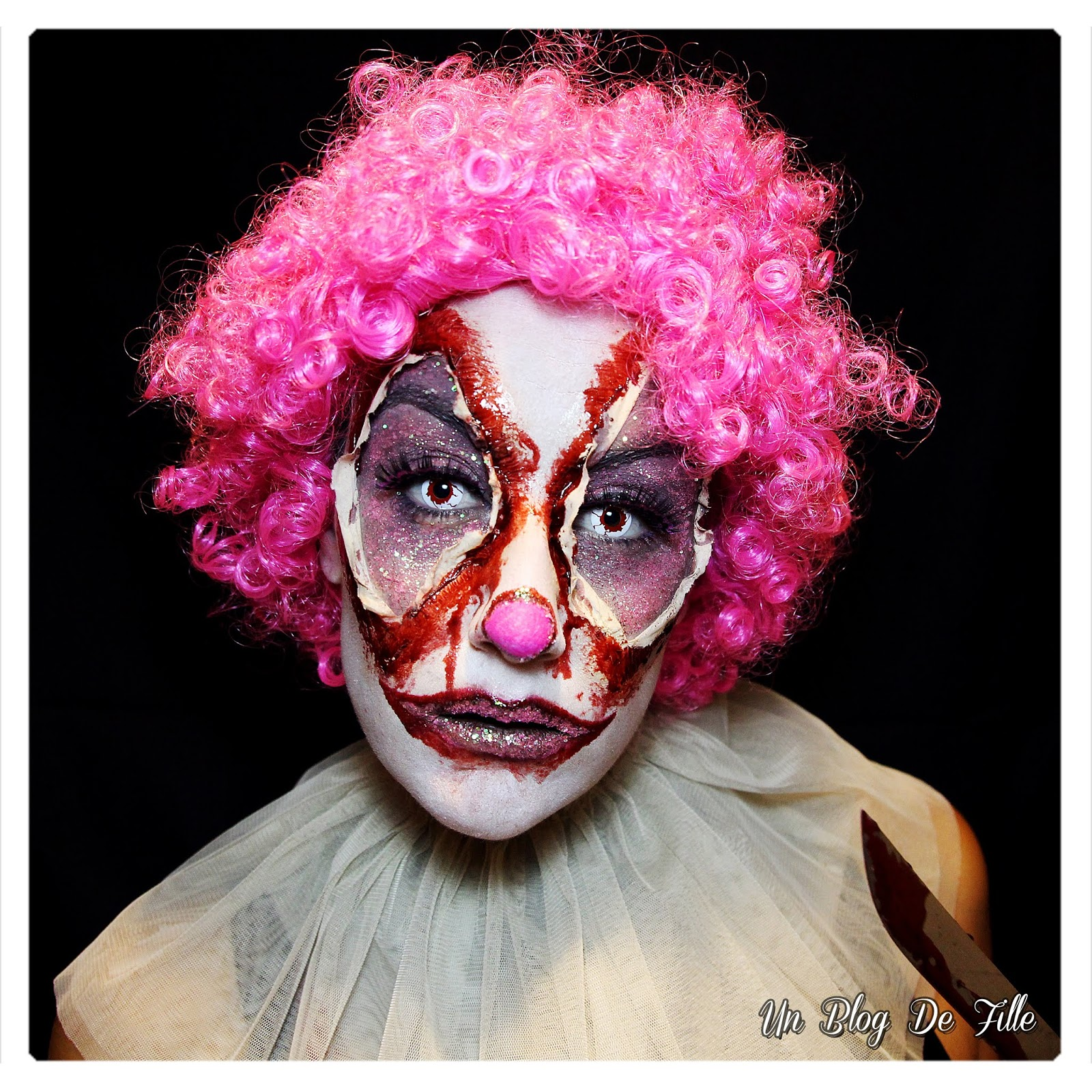http://www.unblogdefille.fr/2018/10/maquillage-halloween-clown-sanglant.html