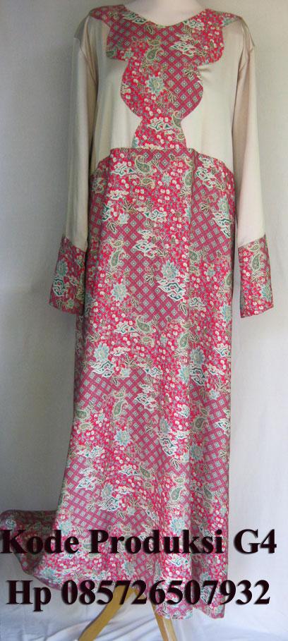 Baju Muslim Big Size Gamis Batik G4 Jual Baju Big Size Ukuran Besar
