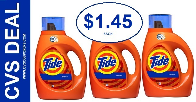 Tide Detergent CVS P&G Deal $1.45 915-921