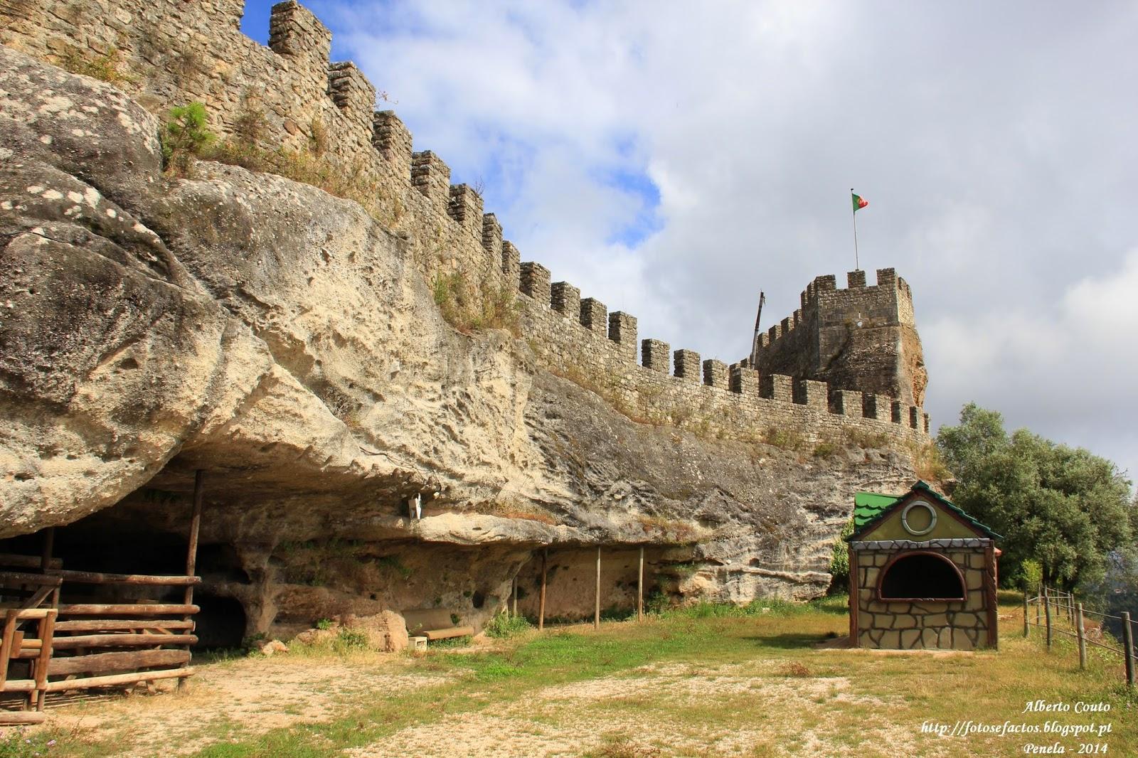 FOTOS e FACTOS: Castelo de Penela- Muralha