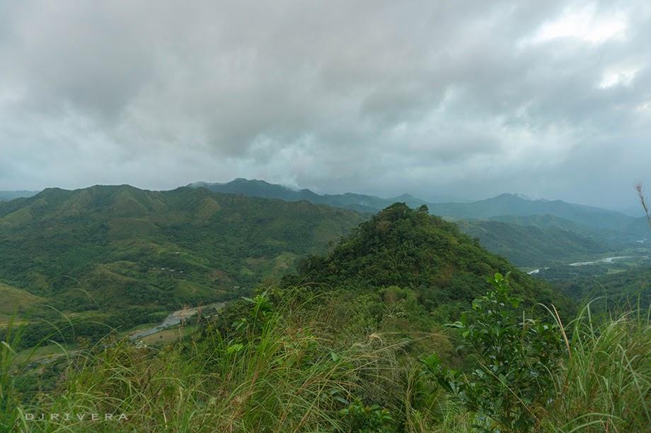 Mt. Cayabu viewed from Mt. Maynoba