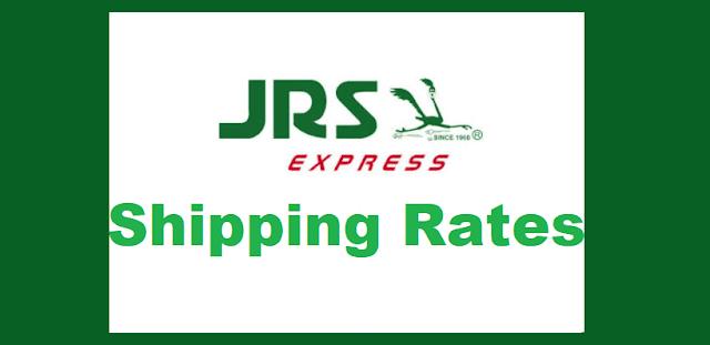 JRS Express Shipping Rates