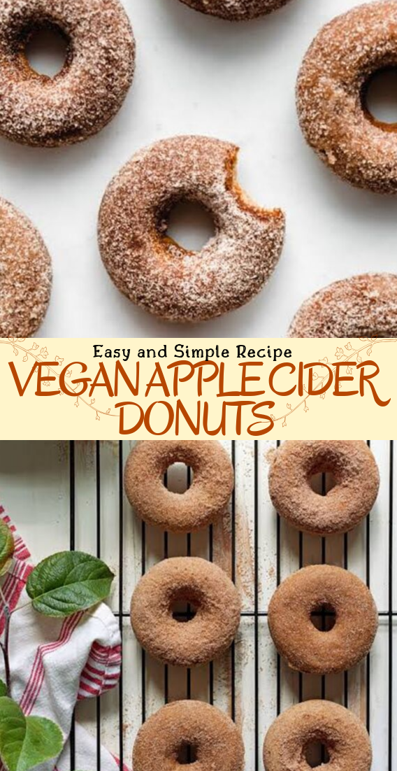 VEGAN APPLE CIDER DONUTS #desserts #cakerecipe #chocolate #fingerfood #easy