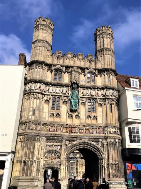 visitar Canterbury y la catedral