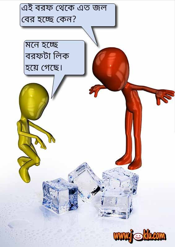Ice and water Bengali joke