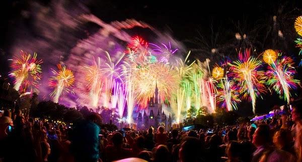 Happy New Year Eve 2016 Fireworks Orlando Florida USA Pictires
