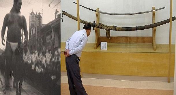 Pedang Raksasa Norimitsu Odachi, Mungkinkah Ini Ada hubungannya Dengan Raksasa