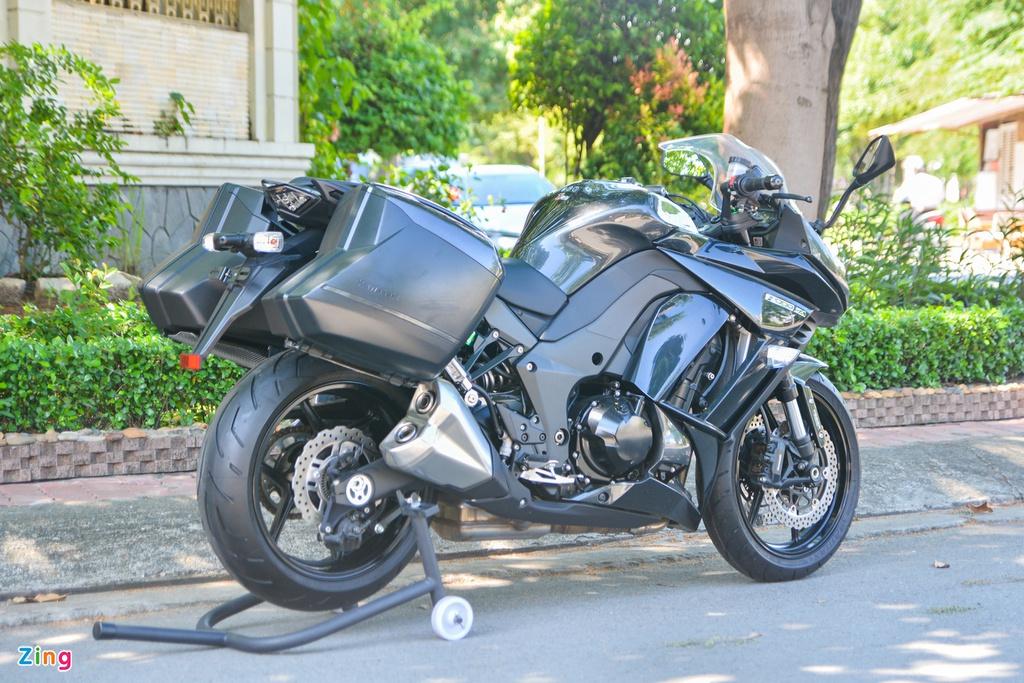 Chi tiết Kawasaki Z1000SX giá 340 triệu - phiên bản touring của Z1000