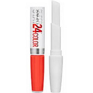 Thỏi Son Kem Lì Màu Đỏ Cam 210 Maybelline SuperStay 24 Color Của Mỹ