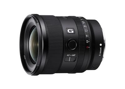 Lensa Sony fe f1.8 g