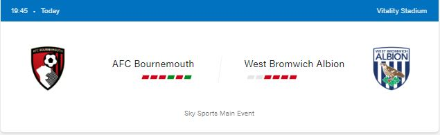 AFC Bournemouth vs West Bromwich Albion Football Preview and Predictions