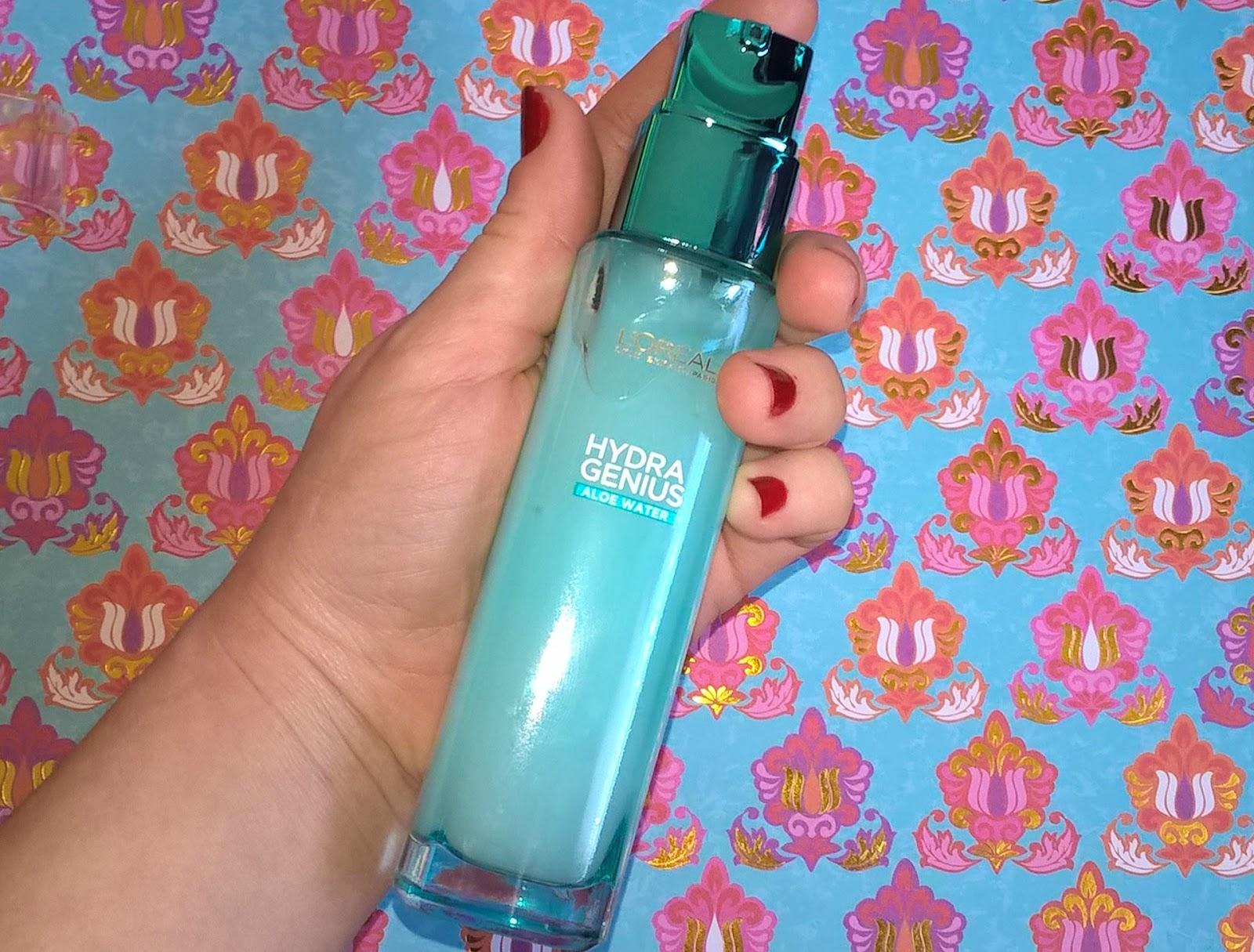 Test du soin liquide Hydra Genius de L'Oréal