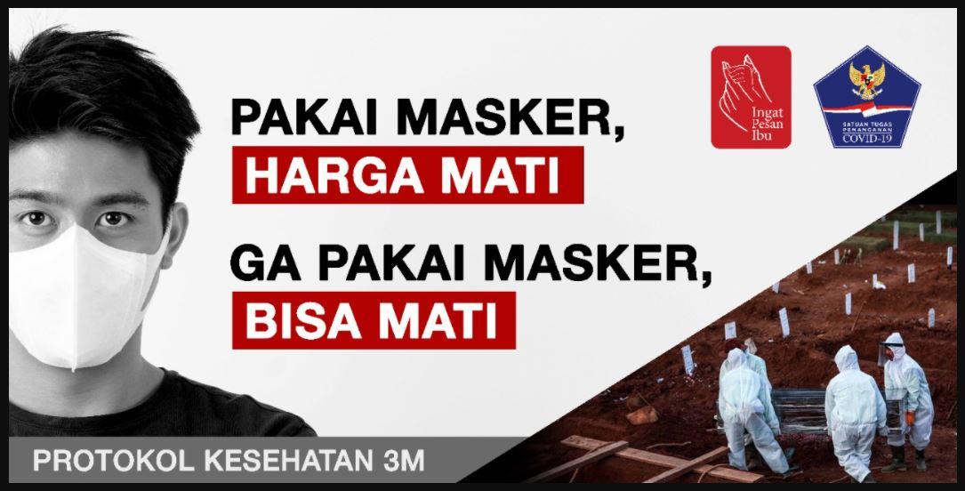 iklan publik masker