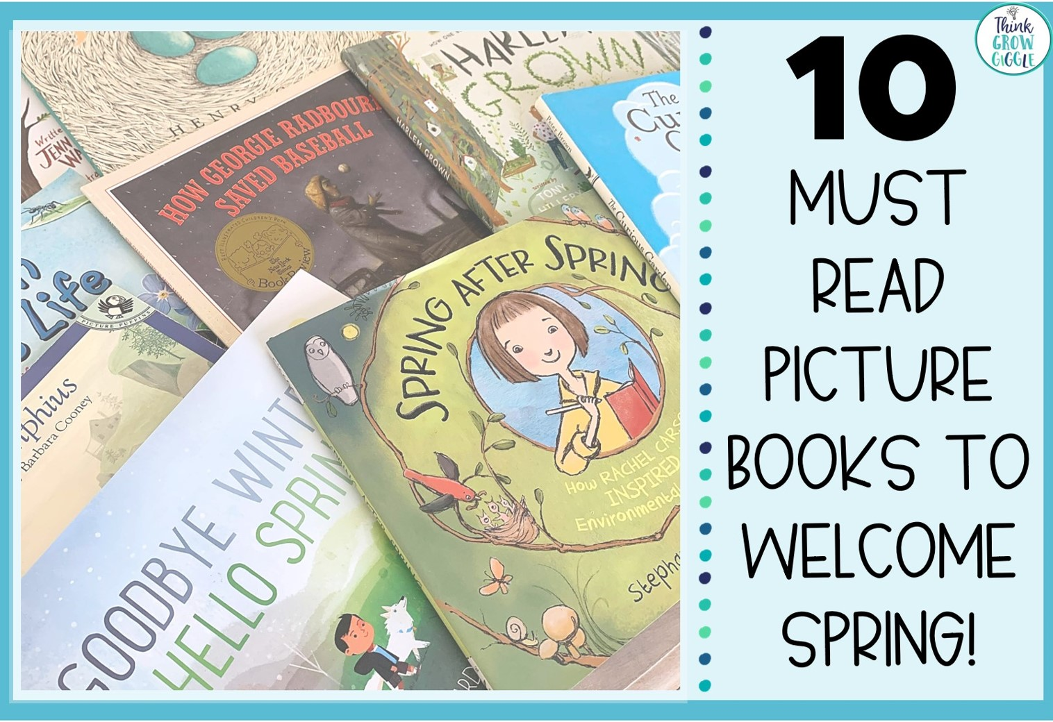 Spring Picture Books for Upper Elementary