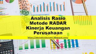 Analisis Rasio Metode RADAR Kinerja Keuangan Perusahaan