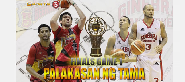 HIGHLIGHTS: San Miguel vs. Ginebra (VIDEO) Finals Game 1