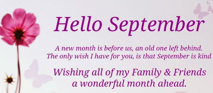 happy new month september 2014