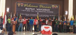 Wakasad Deklarasikan Army Cyling Club TNI AD dan Kotama /Balakpus