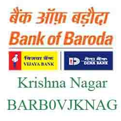 Vijaya Baroda Krishna Nagar,Ahmedabad Branch Ahmedabad New IFSC, MICR