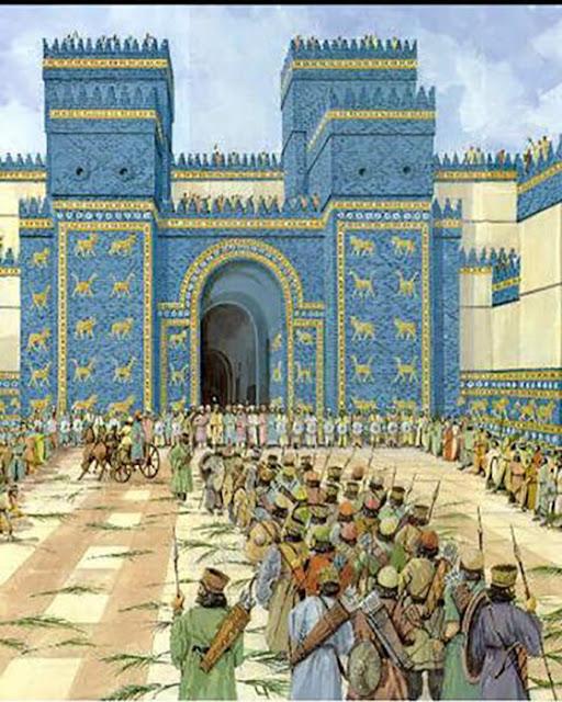 Portão de Ishtar na Babilônia