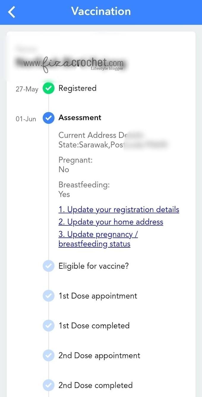 Daftar Vaksinasi Di MySejahtera Untuk Ibu Menyusukan Anak