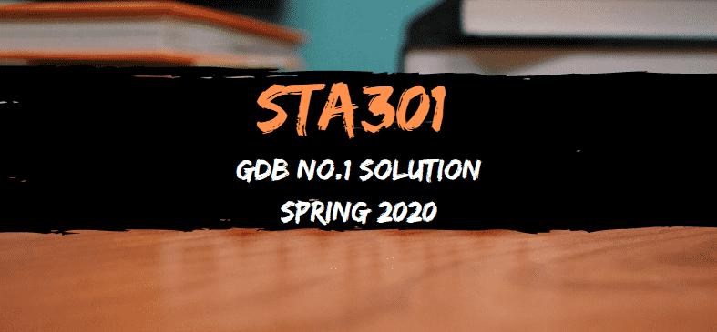 STA301