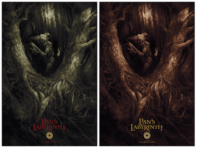 Pan's Labyrinth Screen Print by Karl Fitzgerald x Bottleneck Gallery