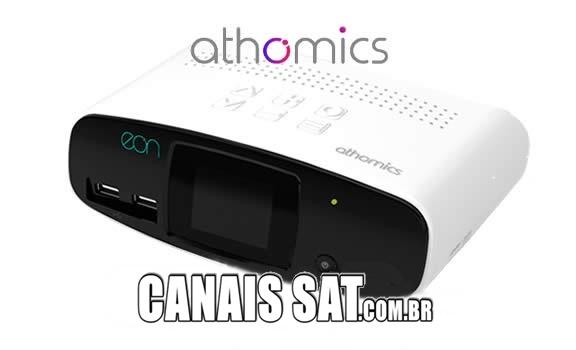 Athomics Eon UHD Atualização V2.0.18 - 08/10/2020