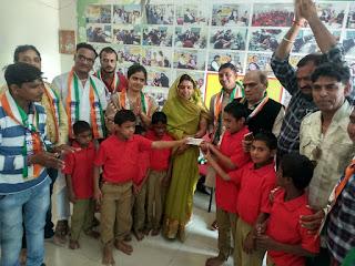 राष्ट्रीय मानवाधिकार एवं महिला बाल विकास आयोग ने जिला विकलांग पुनर्वास केंद्र पर मनाया बाल दिवस